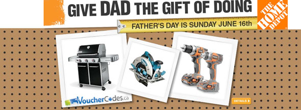Home Depot Father's Day Deals