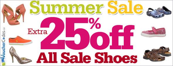 Shoes.com Extra 25% Off
