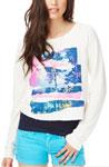 Long Sleeve Night Sweatshirt
