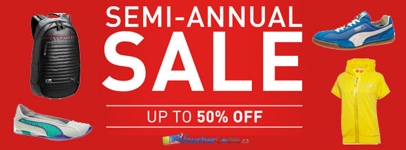 Puma's Semi-Annual Sale