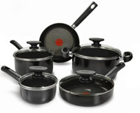 T-Fal 9-Piece Cookware Set