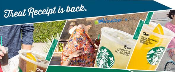 Starbucks' Treat Receipt