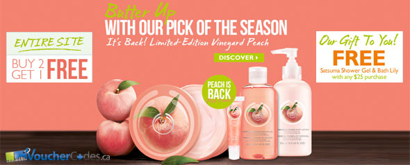 The Body Shop's Deals & Free Shipping