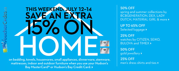 Hudson's Bay The White Sale