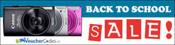 Canon eStore Back to School Specials