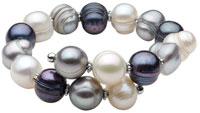 MultiColor Freshwater Pearl Bracelet
