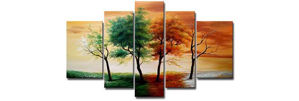 Four Seasons Canvas Art