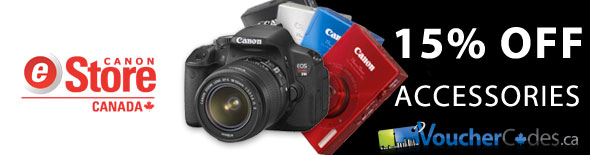 VoucherCodes.ca Canon Exclusive