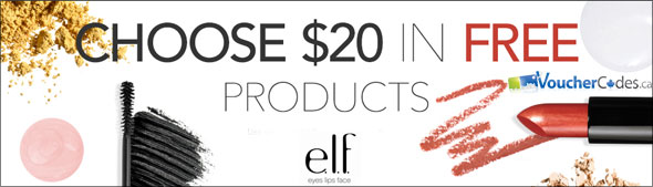 ELF $20 Of Free Products