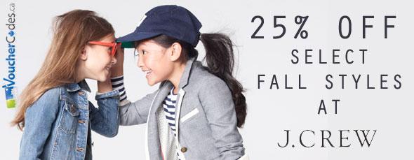 J. Crew 25% Off Fall Styles
