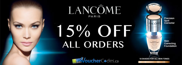 Lancome 15% Off Everything