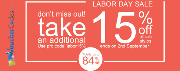 Romwe's Labor Day Extra 15% Off Sale