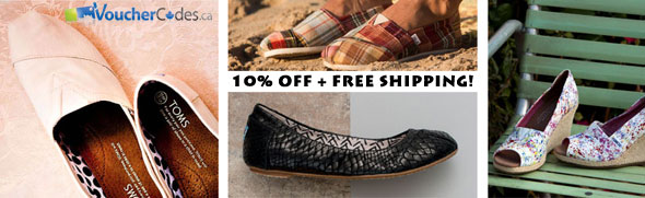 Toms Shoes 10% Off