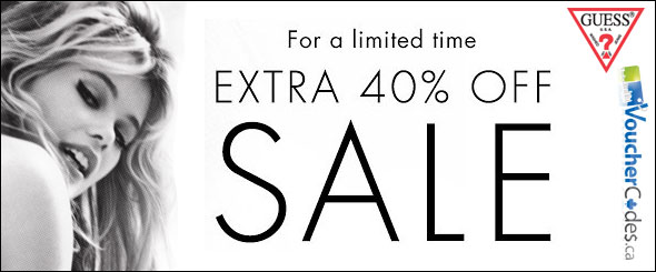 Guess.ca Extra 40% Off Sale