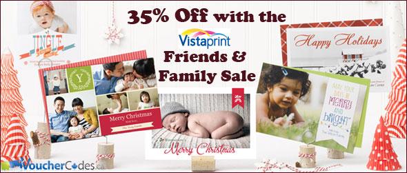 Vistaprint Friends & Family Sale