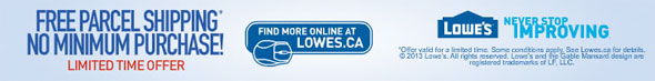 Lowes New Years Deals