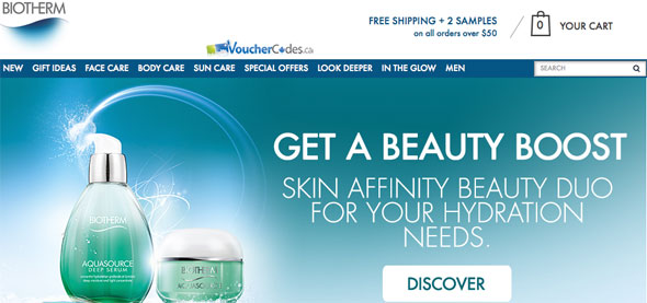 Free shipping and more at Biotherm
