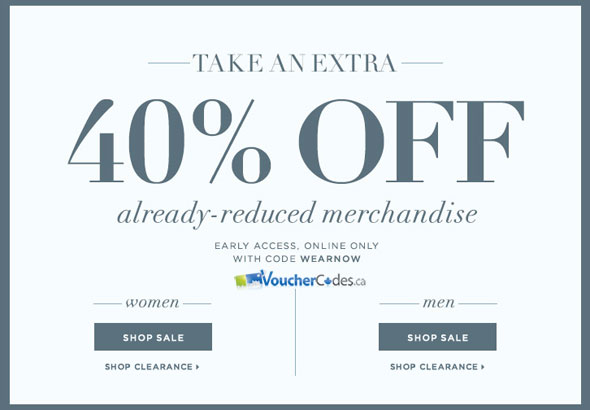 Club Monaco April Sale